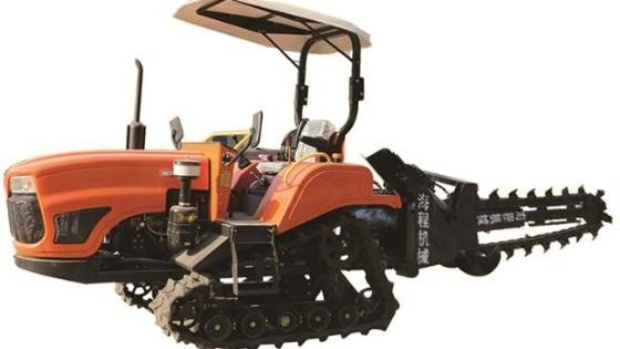 为何现代农户都在使用履带式拖拉机?