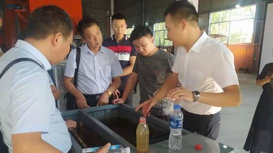 衡南县畜牧水产局领导及养殖户老总一行来公司考察